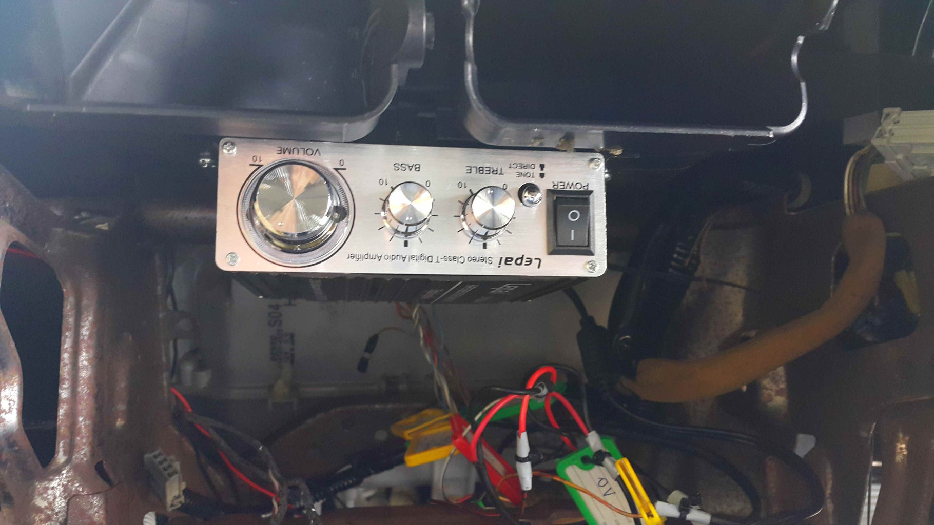 Wiring and Securing the Lepai.