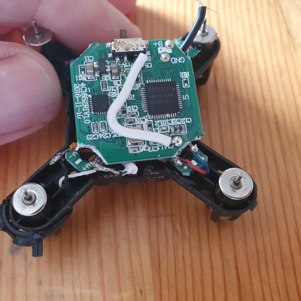 Disassemble Drone
