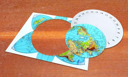 The Map and Number Disk
