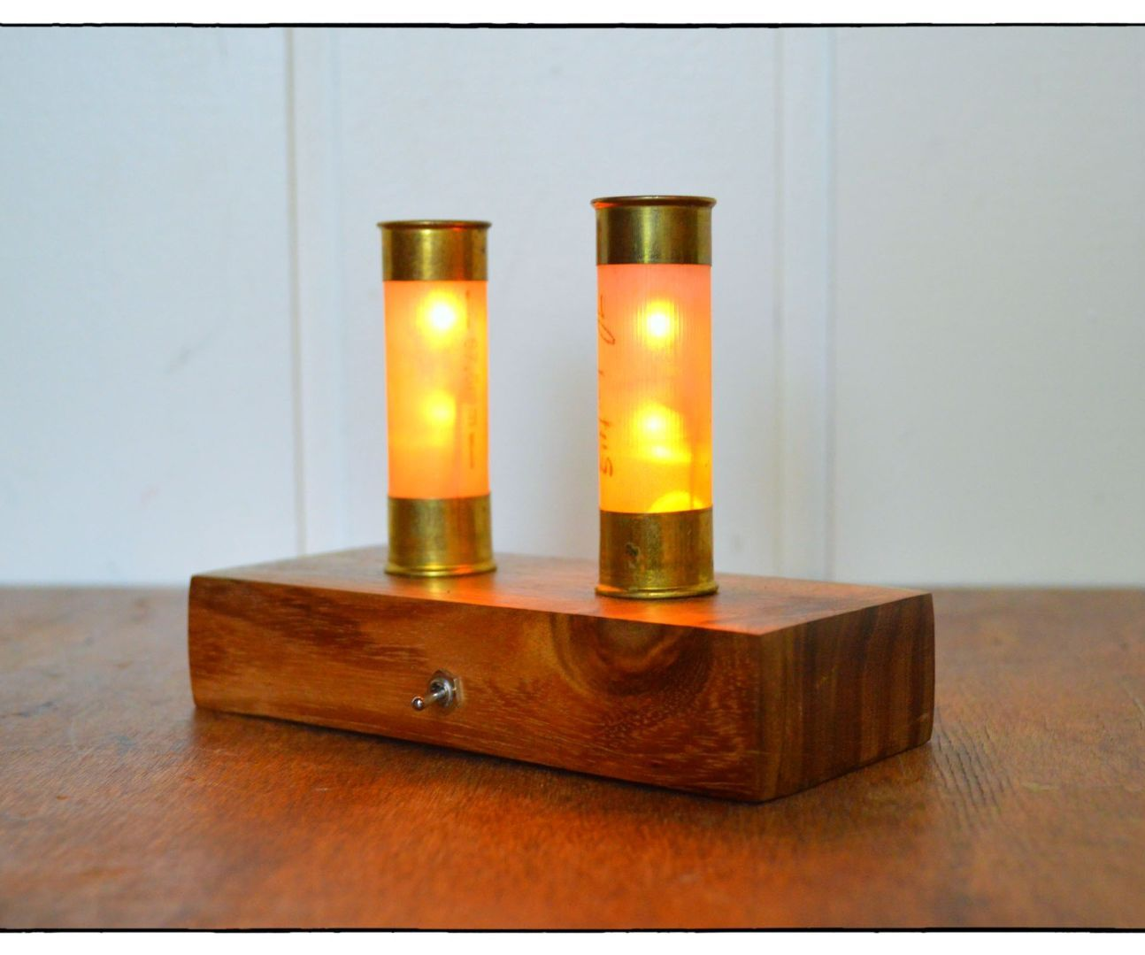Shotgun Shell LED Candles