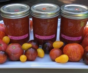 Canning Summer Tomato Sauce