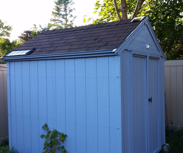 Dual Solar Shed (regulated and Unregulated)