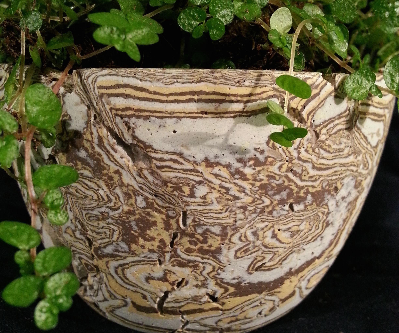 Decorative Concrete - Mokume Gane Method