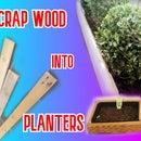 Scrap Wood Planter