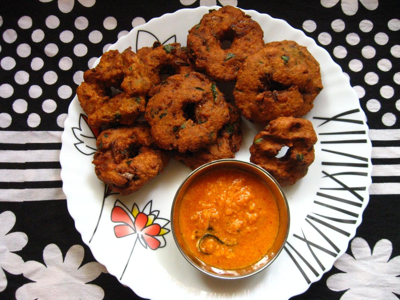 Deep-fry Vadai and Serve