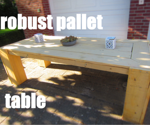 Robust Pallet Table