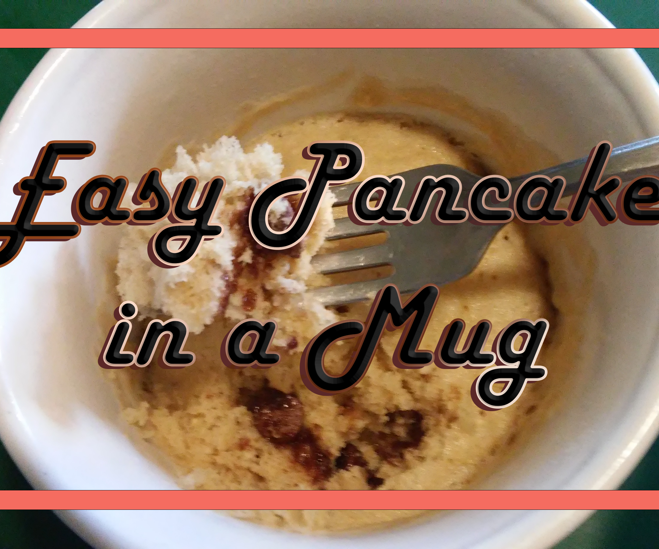 Easy Pancake in Mug