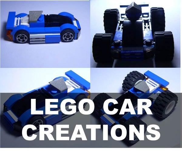 LEGO CAR CREATIONS