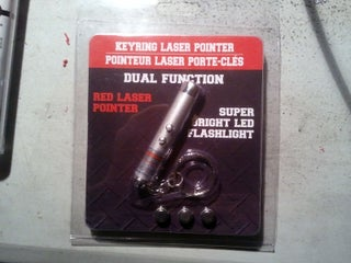 Modifying an Inexpensive Laser Pointer Keychain for General Use