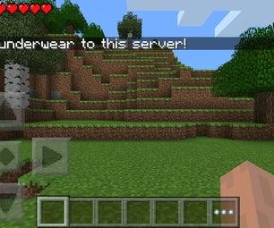 How to Make a Temporary Minecraft Pe Server