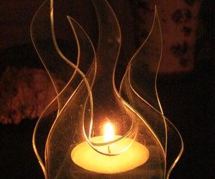 Acrylic Votive Candle Holder