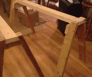 Strong, Light, Quick-Build Sawhorse