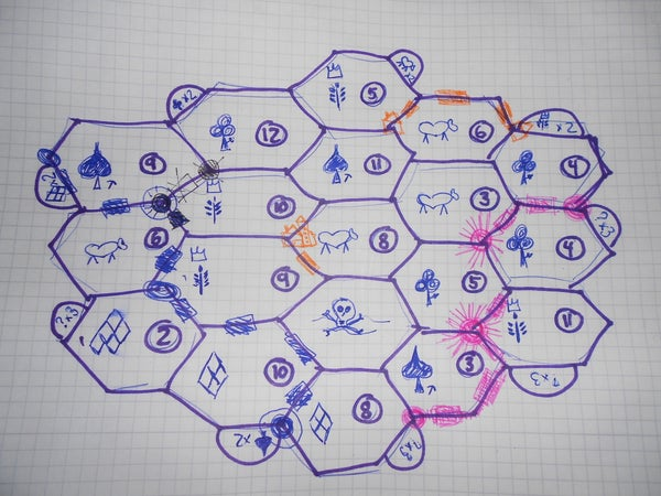 Draw and Play Your Own Settlers of Catan Game From Scratch.