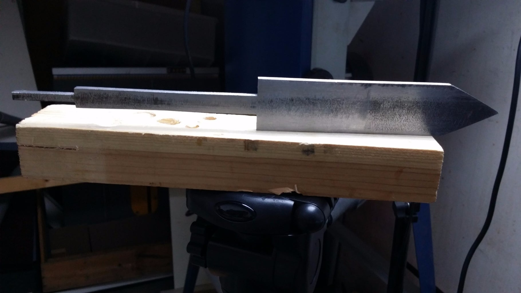 Cutting Out the Blade Shape