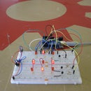 Multiplexing with Arduino - Transistors    (I made it at techshop)