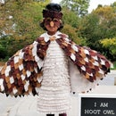 No-sew Owl Costume
