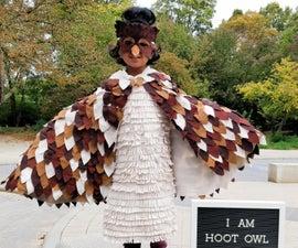 无缝猫头鹰服装