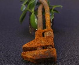 Antique Monkey Wrench Restoration