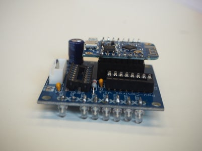 Soldering of the PCB