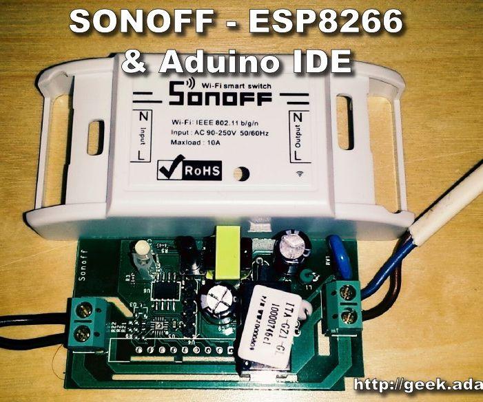 SONOFF - ESP8266 Update Firmware With Aduino IDE