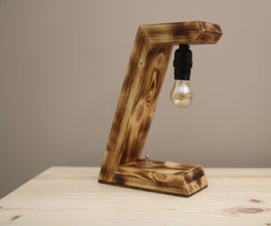 How to Make a Wooden Desk Lamp