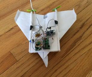 如何制作无线电控制纸飞机(以及学习电子学)