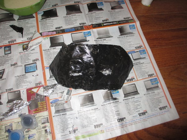 Easy Customized Mask (using Aluminum Foil)