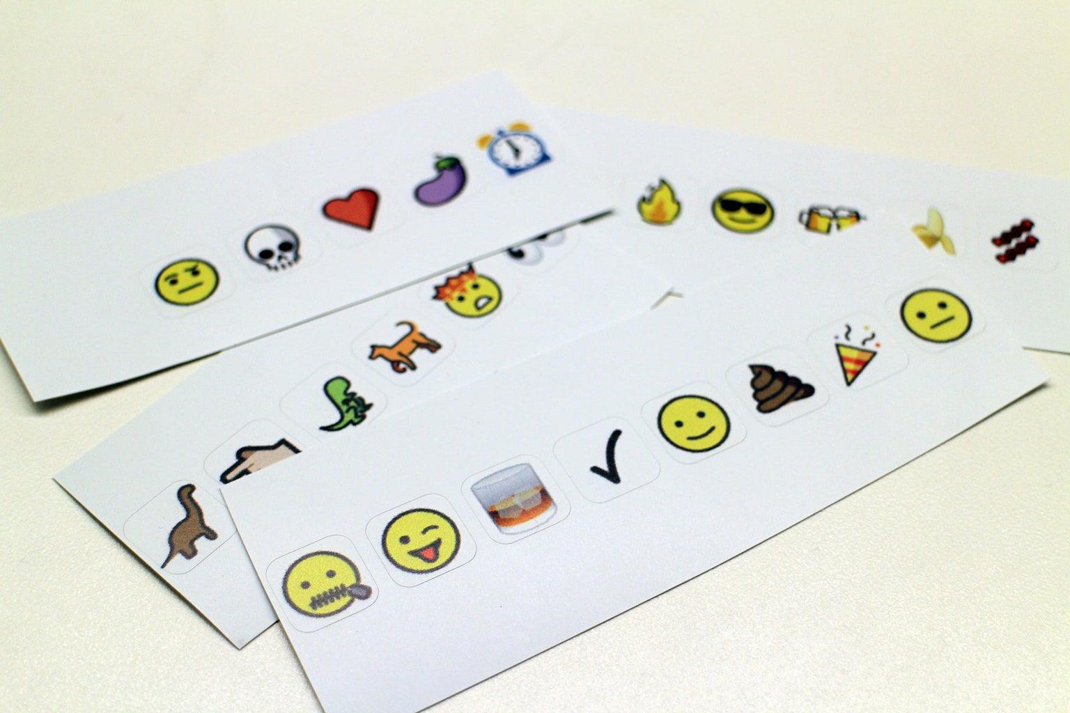 Stick Those Stickers