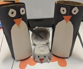 纸管企鹅族