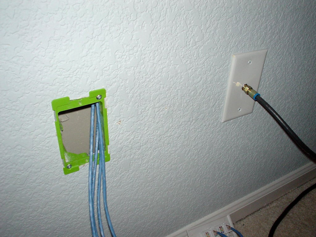How to Wire Your House With Cat-5 (or 6) for Ethernet Networking : 8 Steps  (with Pictures) - Instructables | Whole House Internet Wiring |  | Instructables