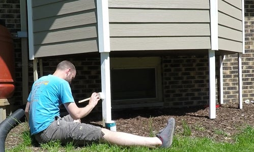Install Other Posts and Paint