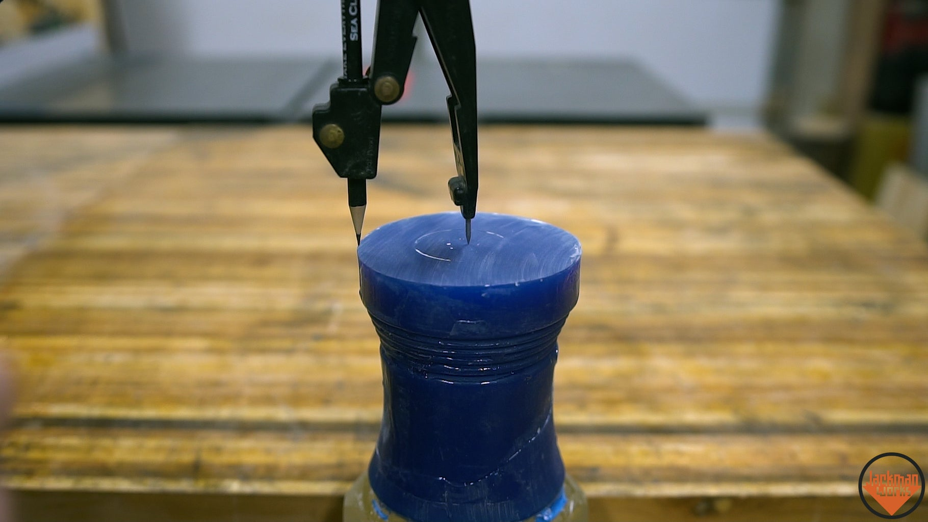 Drilling the Hole for the Bit