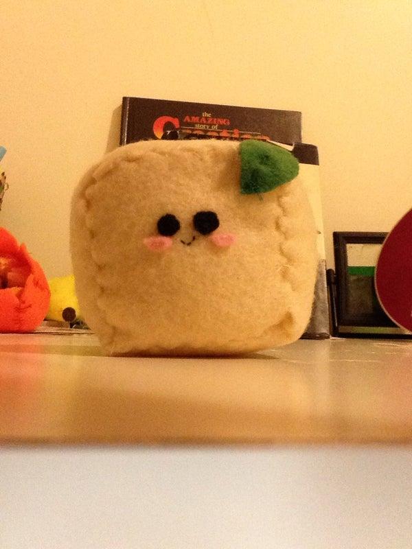 Kawaii Felt Tofu Cube Plushies