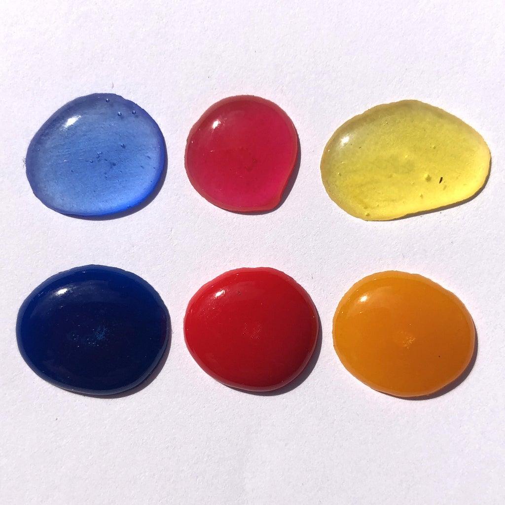 Primary Colors - Transparent Vs. Opaque