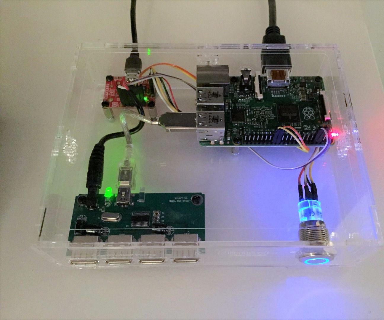 Raspberry Pi Nin10do 'Lite' Game-Console