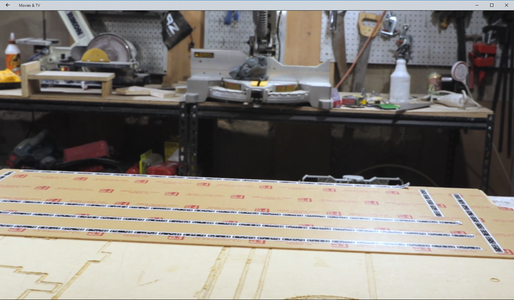 Routing the LED Cavity in the Beam