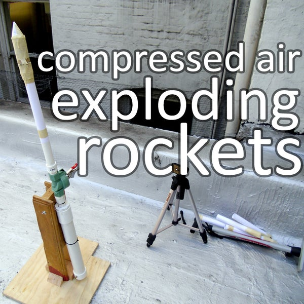 Compressed Air Rockets