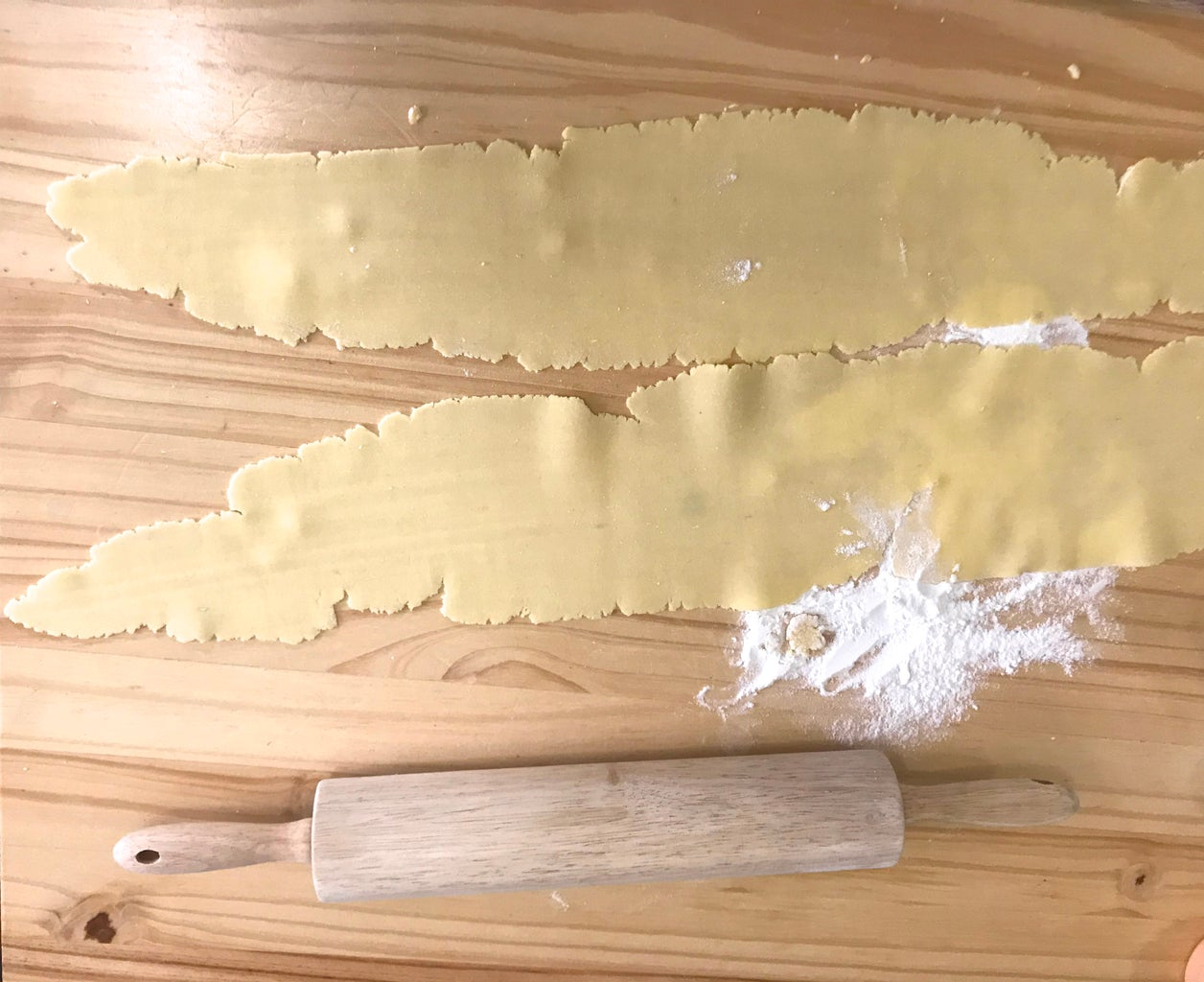 Shaping Dough