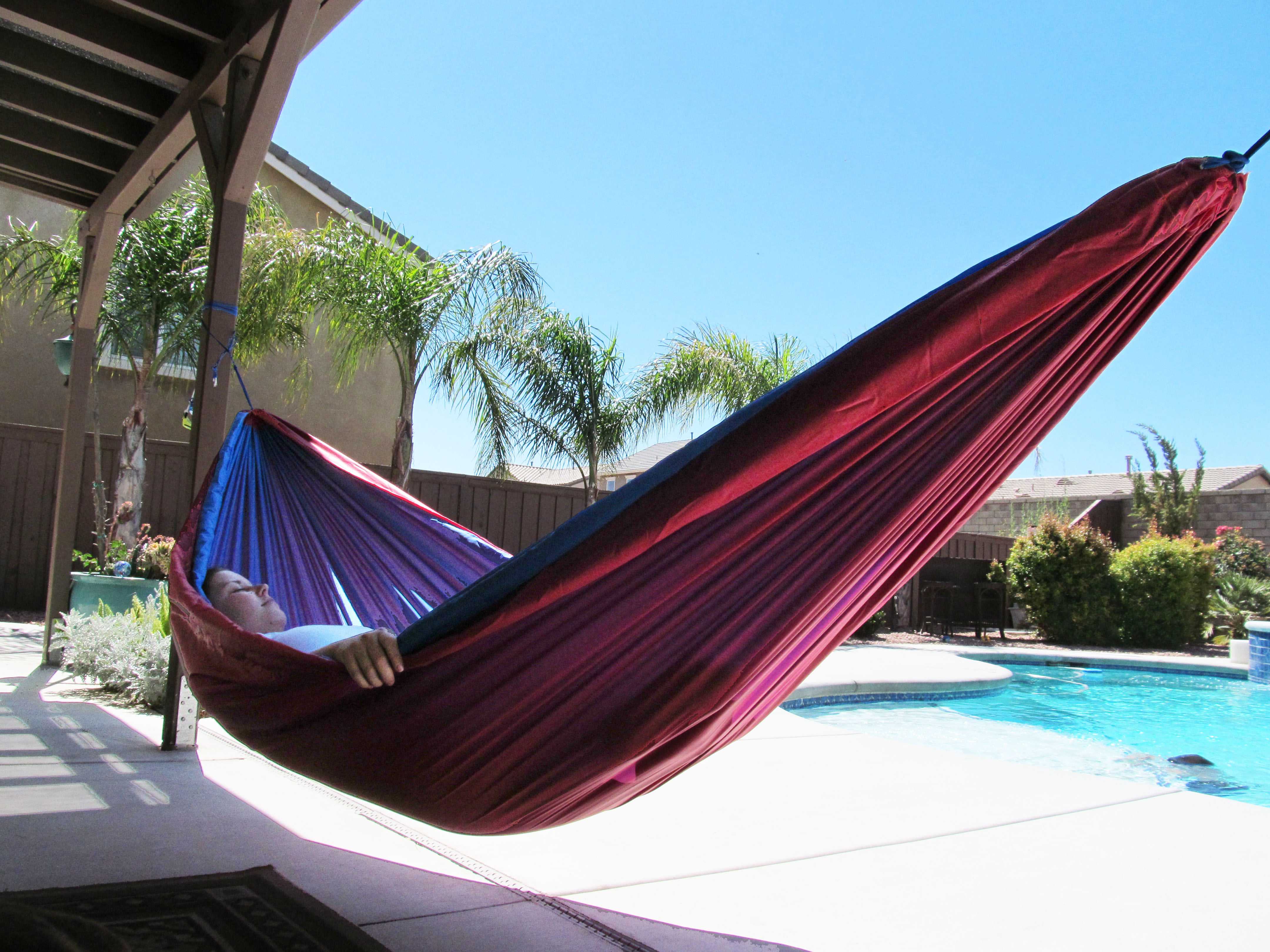 Make a Rip Stop Nylon Hammock