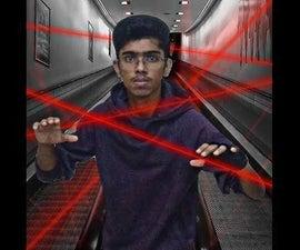 Laser TRIPWIRE Security Using Arduino