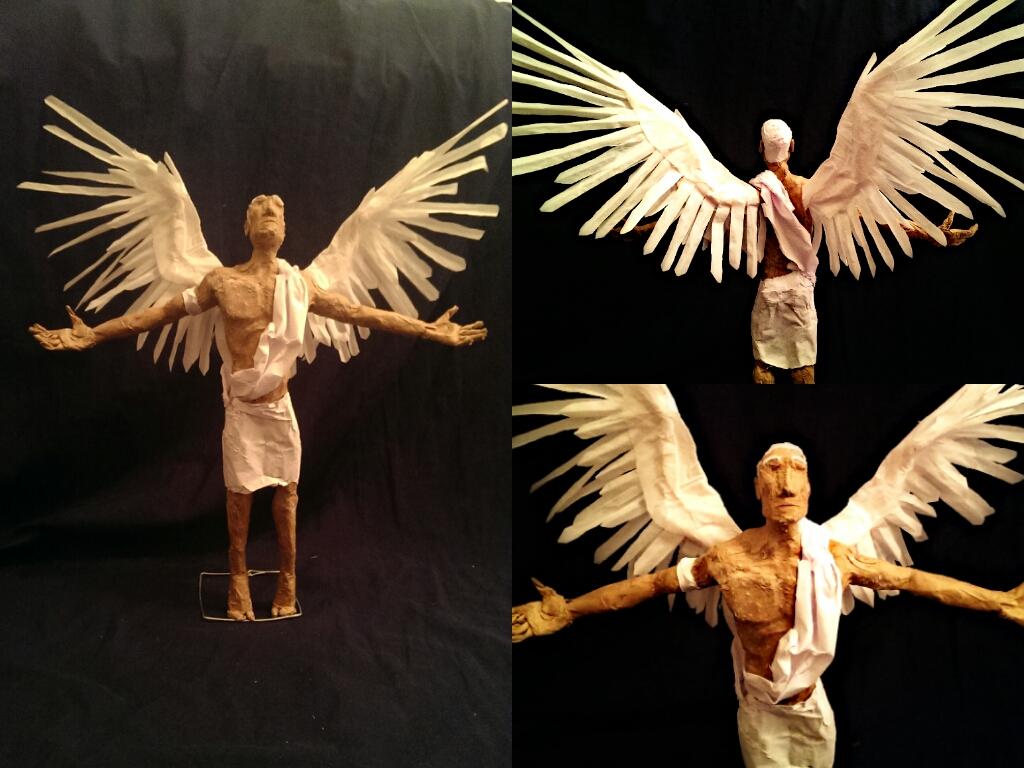 Glue Papier Mâché (Angel)