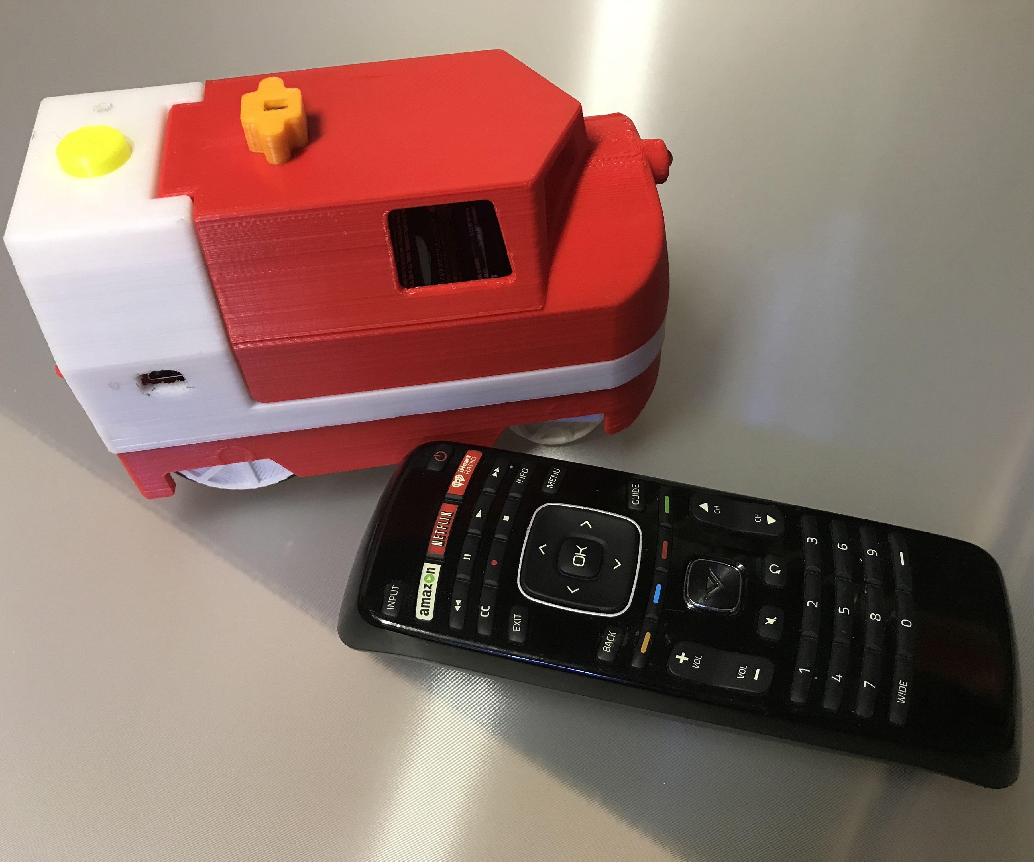 IR Controlled Lego Duplo Compatible Motorized Locomotive