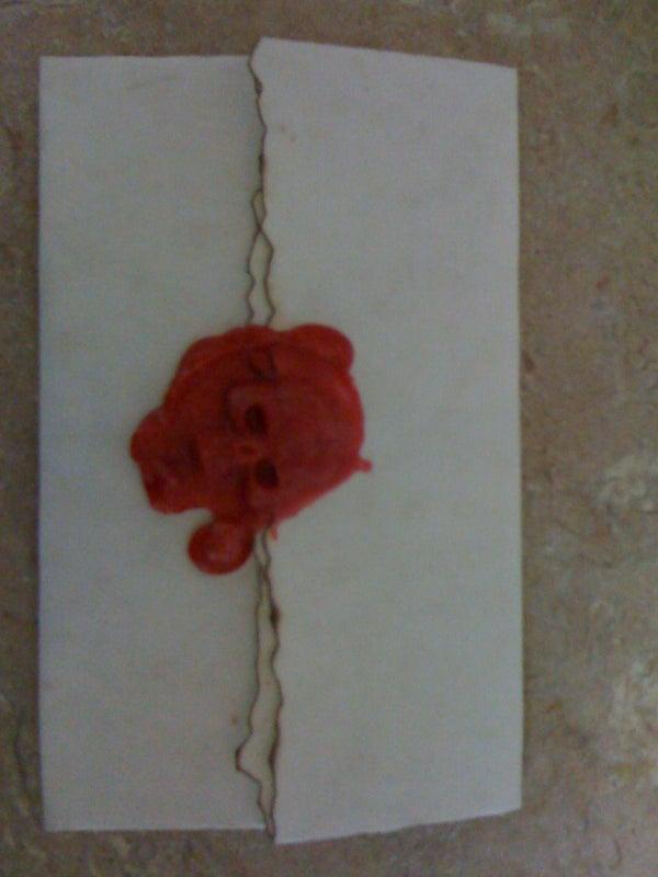Pirate Invitations  ( Wax Seal )