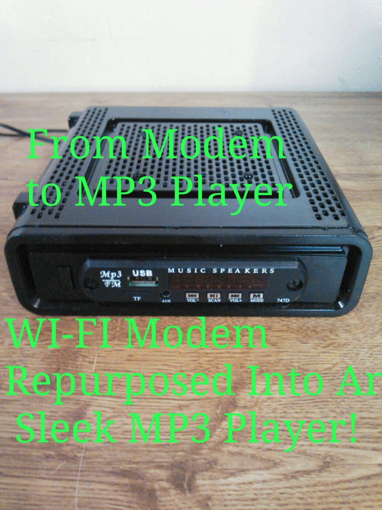 From Modem to MP3 Player