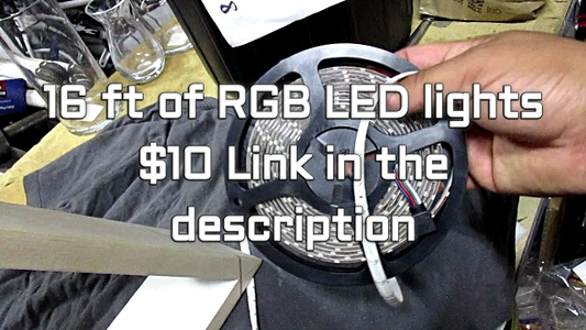 Attach the LED Strip and ENJOY!