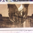 Laser Burning Pictures Into Wood