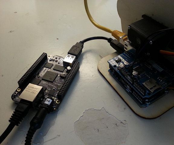 Log Arduino output for days with a BeagleBone