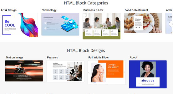 Pick an HTML Template That You Like