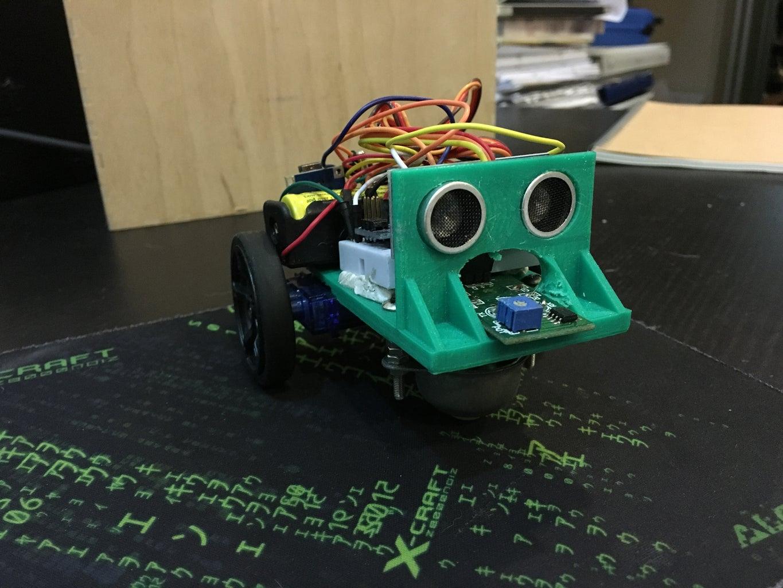 Mini-Sumo Bot