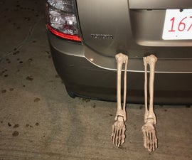 Skeleton in the Trunk - Car Decoration